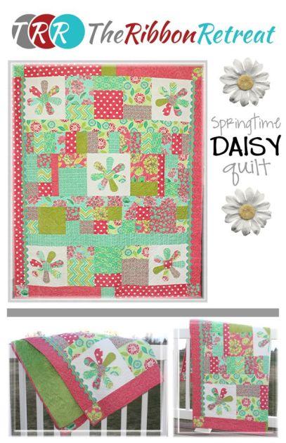 2013 TRR Shop Hop Quilt_Daisy